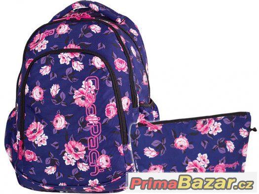 0bf8b32d9e skolni-batoh-coolpack-prime-rose-garden-23l-termotaska