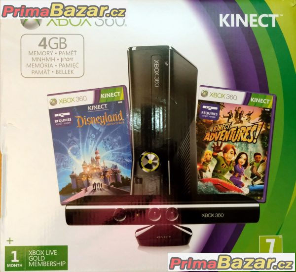 x-box-360-4gb-s-kinectem