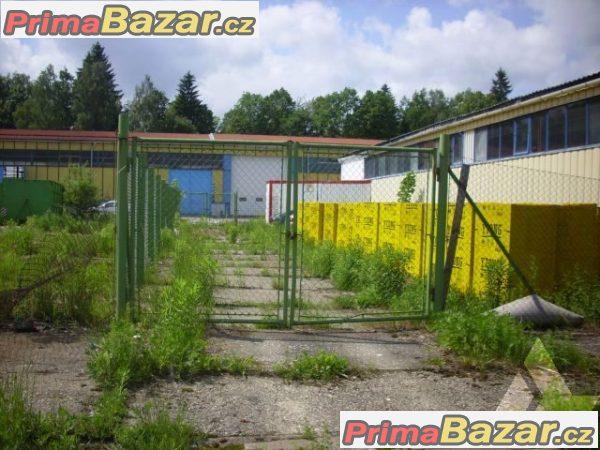 Prodej - skladová nebo výrobní hala v Jeseníku, 600m2