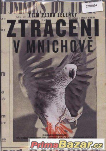 Ztraceni v Mnichově   - Petr Zelenka   DVD