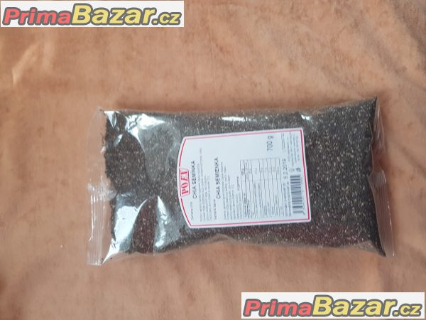 prodám orig. balení chia semínka pro zdravou výživu doplně