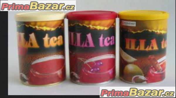 prodám nízkokalorický nápoj  Illa tea příchuť citron,broskev,jahoda,višeň balení 220