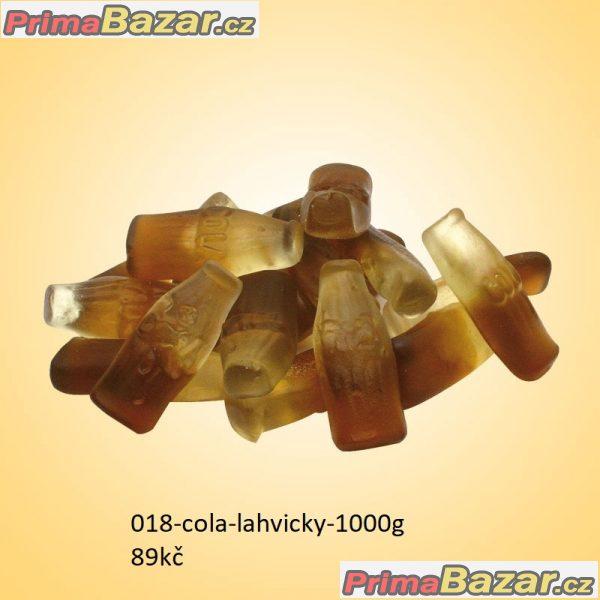prodam bonbony 1kg cola lahvičky sladk