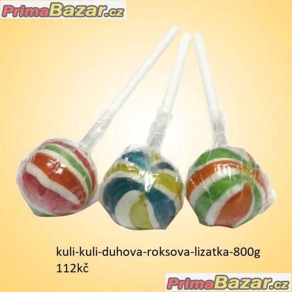 prodam ovocné roks bonbony 750g veselé bonbonky s