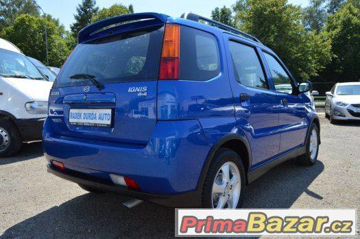 Suzuki Ignis 1.3i 68 kW 4x4, KLIMATIZACE