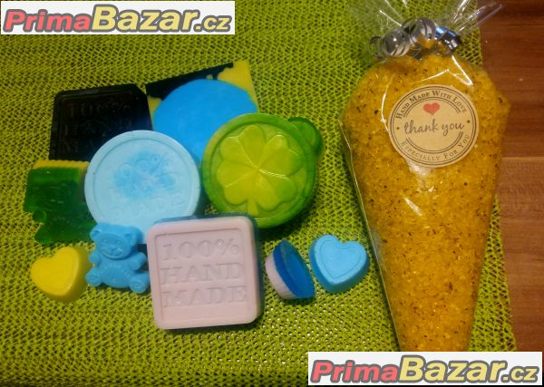 Glycerinová mýdla s bambuckým máslem