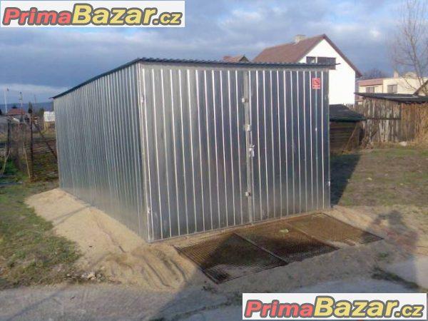 Plechové garáže v AKCI - doprava a montáž zdarma