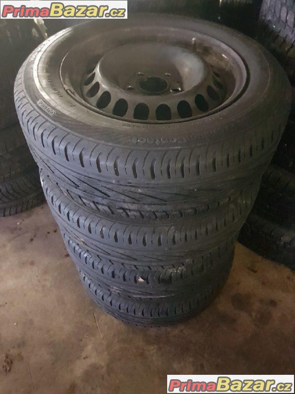 4xplechovy disk plechace s pneu continental 2104000202