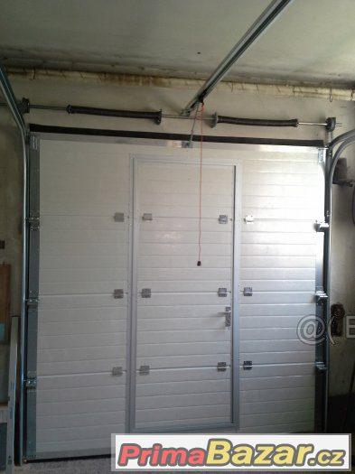 Garážová vrata s pohonem i montáže