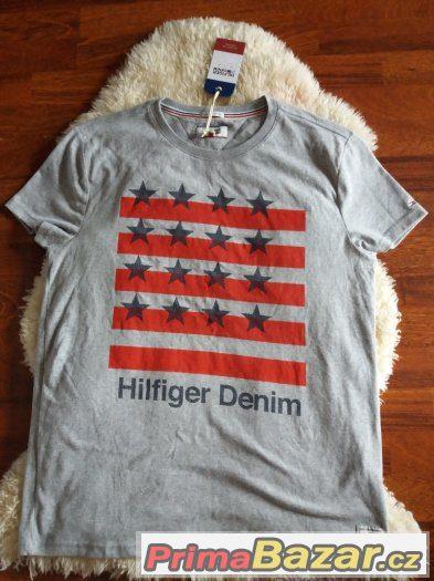 d647bbd97f tommy-hilfiger. Prodám nové originál pánské tričko vel. L -800kč