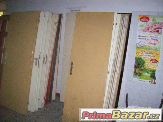 Dveře vnitřní levé, pravé, plné i prosklené 60, 70, 80,90cm.