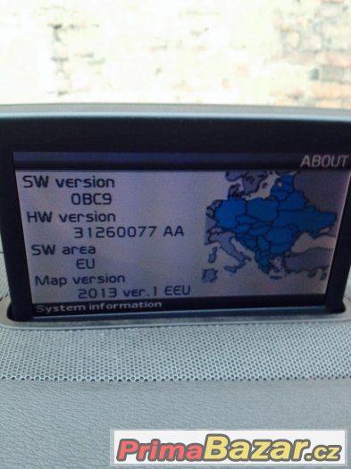 Mapy GPS VOLVO RTI navigace