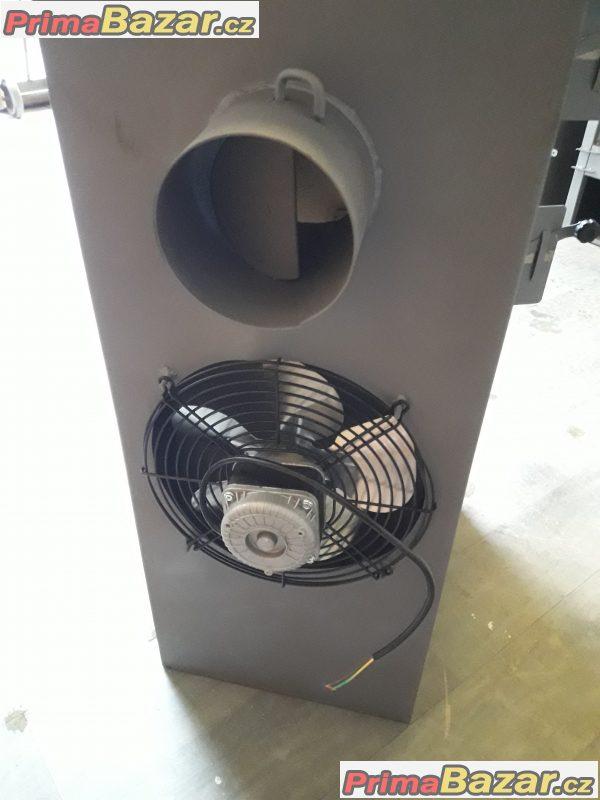 Teplovzdušná kamna 9KW s ventilátorem