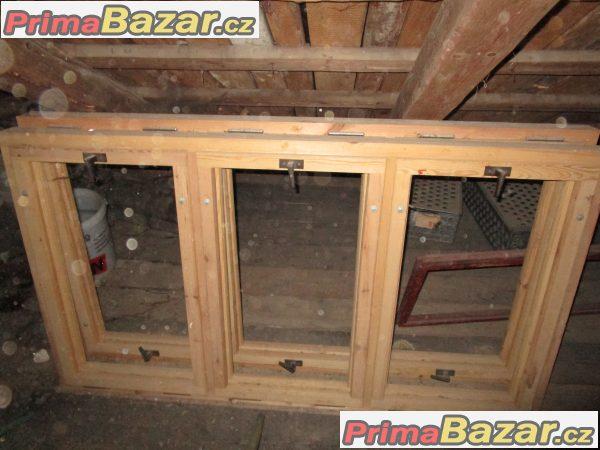 Prodám nová dřevěná okna