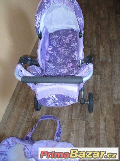 dětský kočárek pro panenky -  vánoční dárek