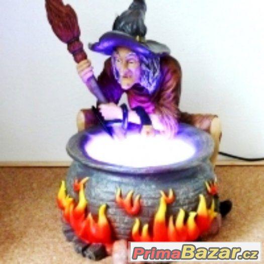 Prosvícená aroma fontána – Mlhová čarodějnice