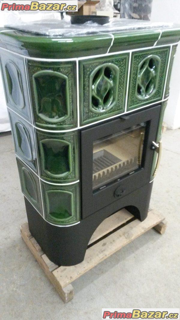 Kachlová krbová kamna - 13 kW