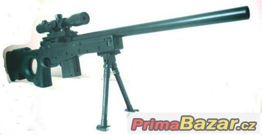 Odstřelovací puška  Typ A-991 na airsoft mechanická + 1-DVD