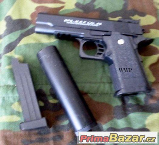 Airsoft zbraň D-1-A BERETTA kovová - Manuální