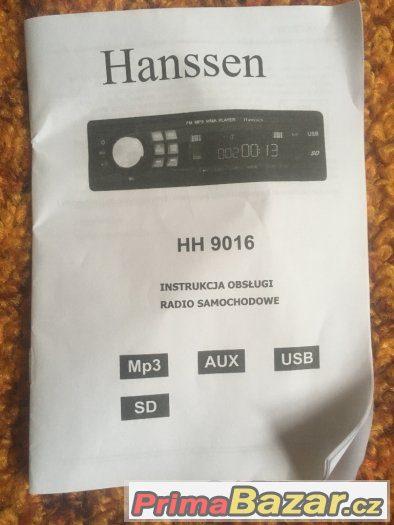 Hanssen HH 9016