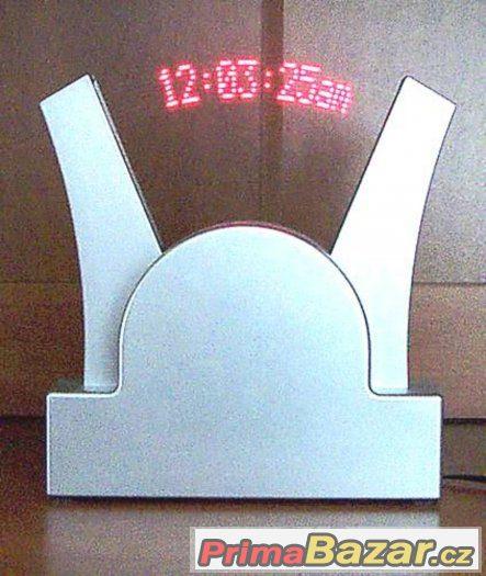 Dekorační digit. hodiny hodiny s text. záznamníkem
