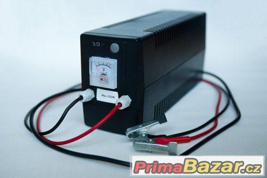 Záložní zdroj čerpadla kotel, krb. kamna - s termostatem