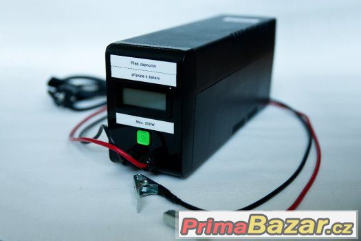 Záložní zdroj - pro plyn. kotel s elektronikou