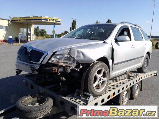 Škoda Octavia II 2.0 FSI 110kw LPG