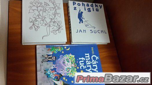 Pohádkové knížky - Suchl, Horák, Erben, Šmahelová, Andersen