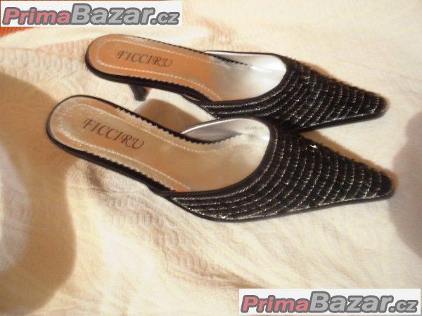 společenské pantofle dámské