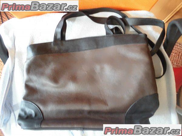 hnědo černá kabelka