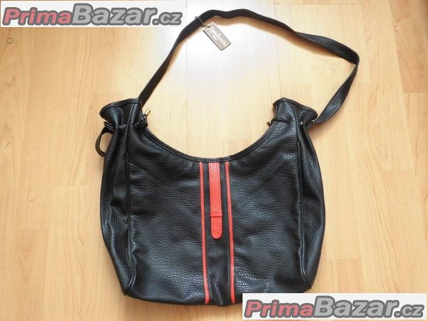 retro černá kabelka
