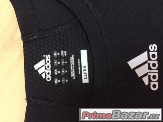Adidas CLIMACOOL sportovni triko s dlouhym rukavem - cerne