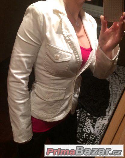Dámské bílé sako