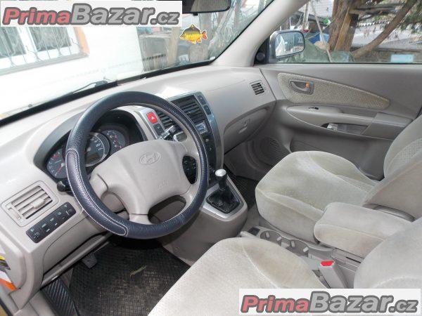 prodám HYUNDAI TUCSON 2006 4X4  Diesel