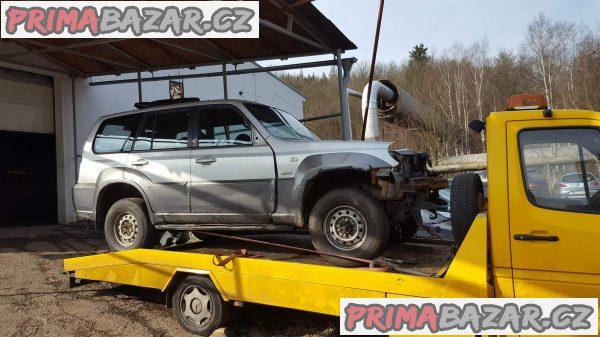 prodám Hyundai Terracan 2.9 Crdi r.v.2004