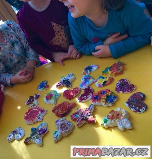 Dílny pro děti, malování na obličej
