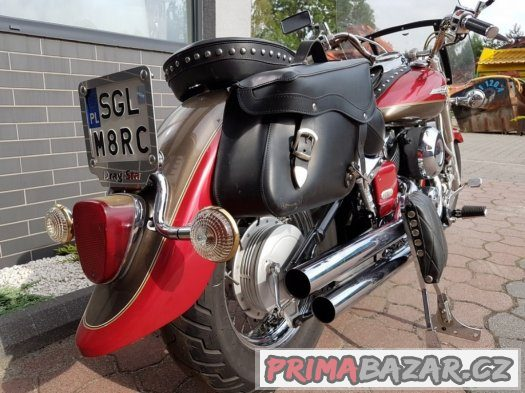 Yamaha dragstar xvs 650 1998 roku Polski krasny ako novy