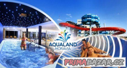 Celodenní vstup Aqualand Moravia + Wellness PO-NE do 30.5.18