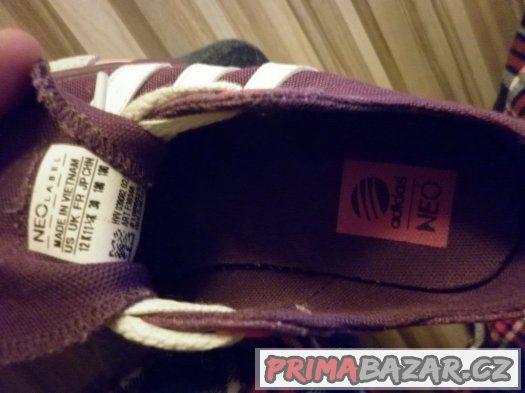 detske platenky Adidas velikost 11