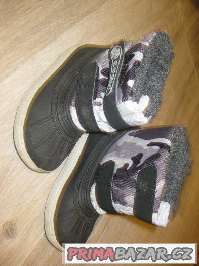 Mix dětské obuvi - levně
