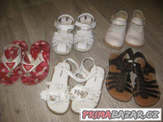 Jarní, letní boty pro holčičky