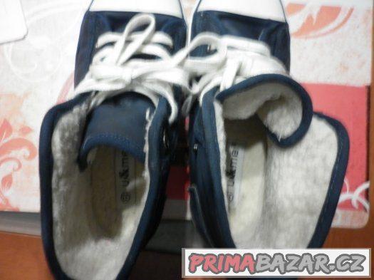 detske kotnikove boty s kožíškem