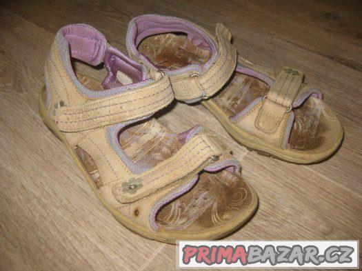 Dívčí sandálky délka 24cm
