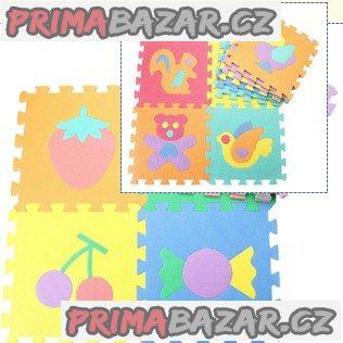 Pěnové puzzle - 29 x 29 cm - 20 ks