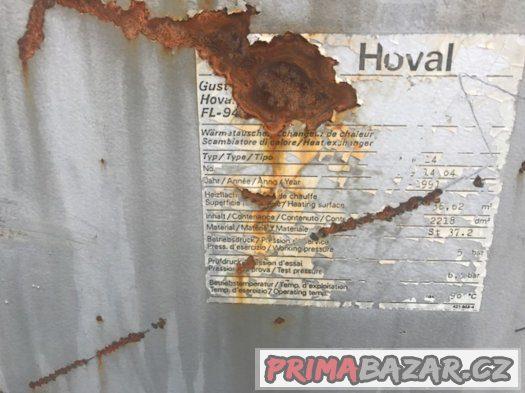 spalinový výměník HOVAL