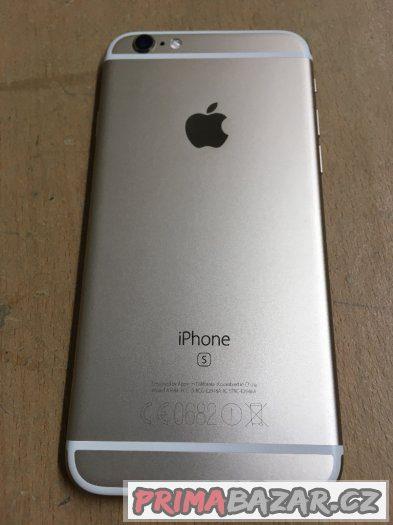 Apple iPhone 6S 128GB gold, jako nový, 3 měsíce záruka