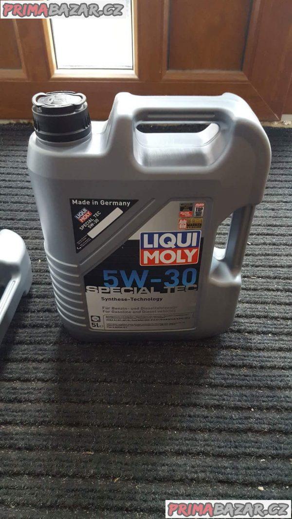 prodám Synteticky olej liqui moly 5w30 special