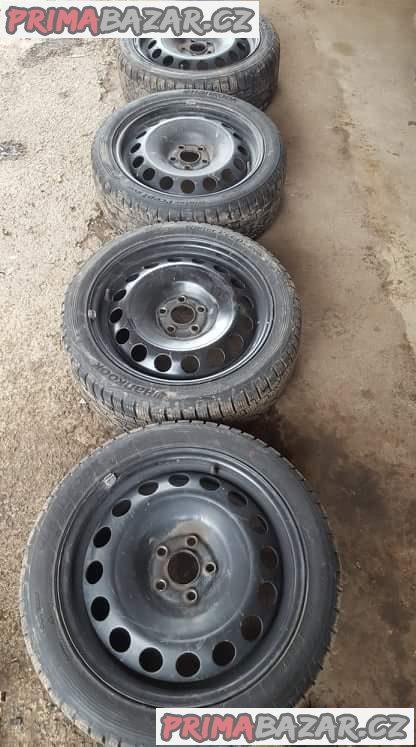 sada plechové disky VW,audi,škoda 1J0601027 5x100 6.5jx16 et42