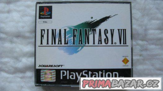 PSX Hra Final Fantasy VII 7,NĚMECKÁ VERZE-kompletní